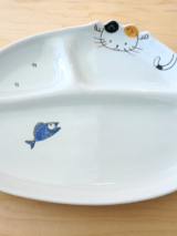Kids Plate - Cat