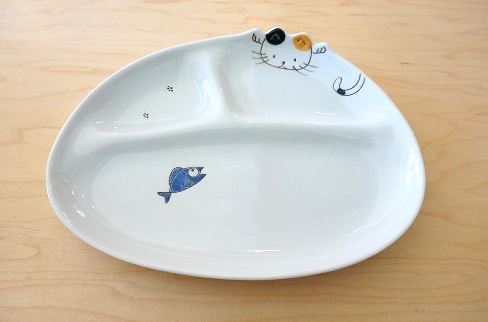 Kids Plate - Cat & Kids Plate Cat u2013 Sanko Online Shop u2013 Japanese Tableware u0026 Gifts