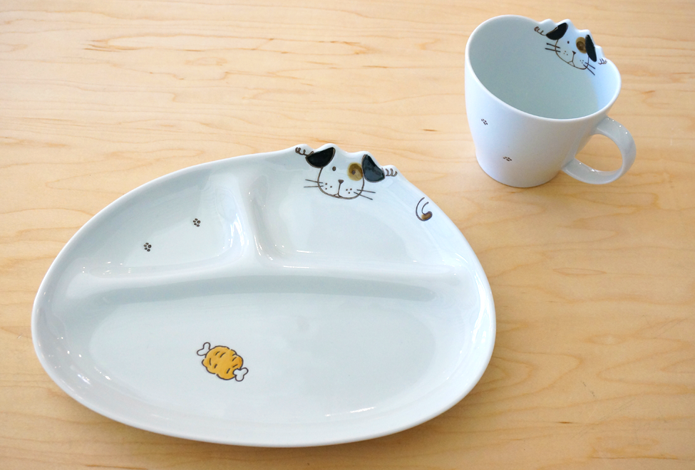 Kids Plate & Cup - Dog