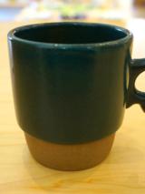 Mug Cup - Stacks Deep Green