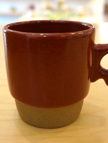 Mug Cup - Stacks Wine Red