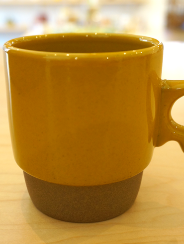 Mug Cup - Stacks Yellow