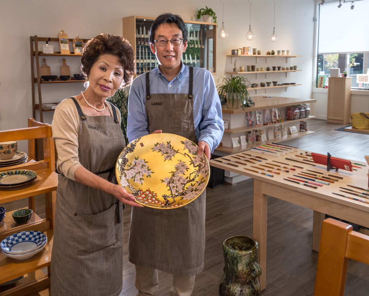 Sanko Kitchen Essentials was introduced to San Francisco local newspaper